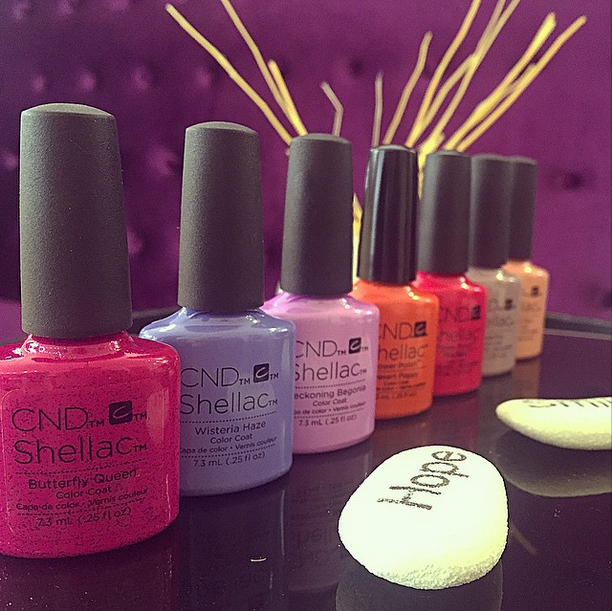 NEW Shellac Colors are here! | Bahia's Beauty-full-world